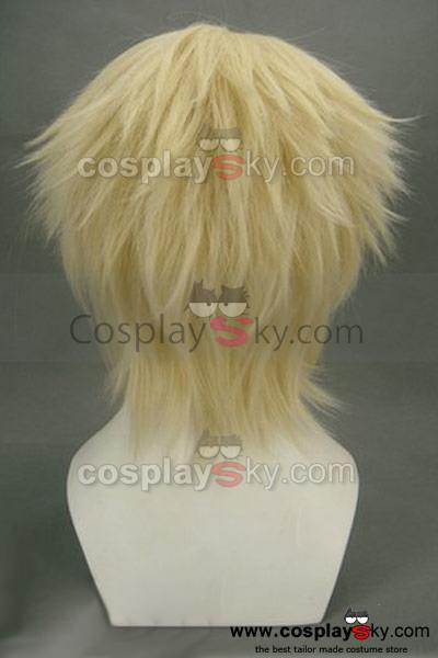 Haku?ki Kazama Chikage Cosplay Wig Gold Version