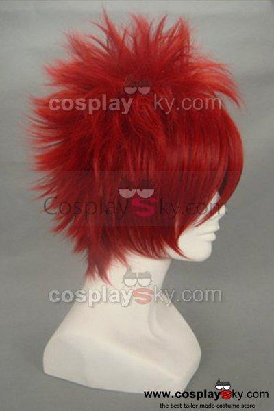 "One Piece Eustass ""Captain"" Kid Cosplay Wig"