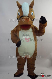Horse Mascot Costume Fancy Dress Outfit Clothing