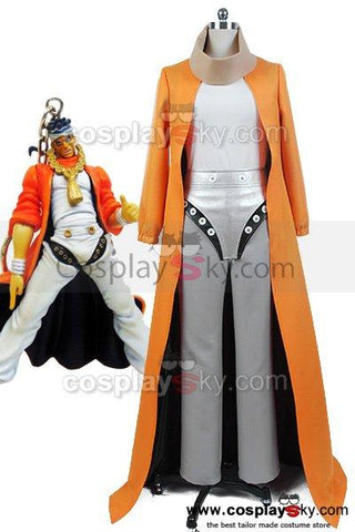 JoJo's Bizarre Adventure Muhammad Avdol Coat Uniform Outfit Cosplay Costume