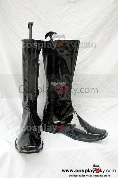 Kamen Rider Cosplay Boots Black Custom-Made