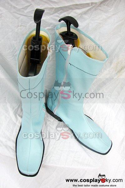 Kamen Rider Cosplay Boots Sky Blue Custom-Made