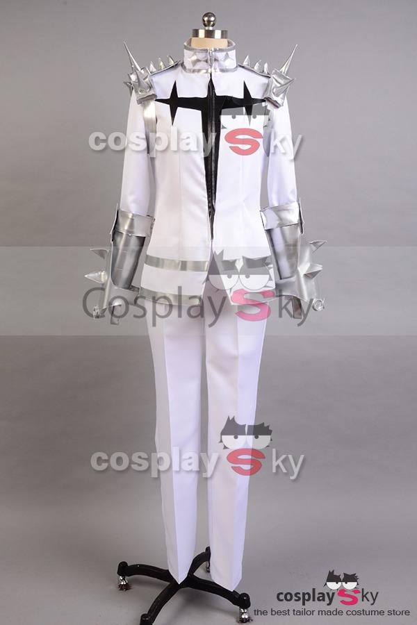 KILL la KILL Ira Gamagoori Final Form White Uniform Cosplay Costume