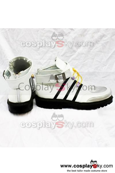 Kingdom Hearts Cosplay Classical White Shoes Boots