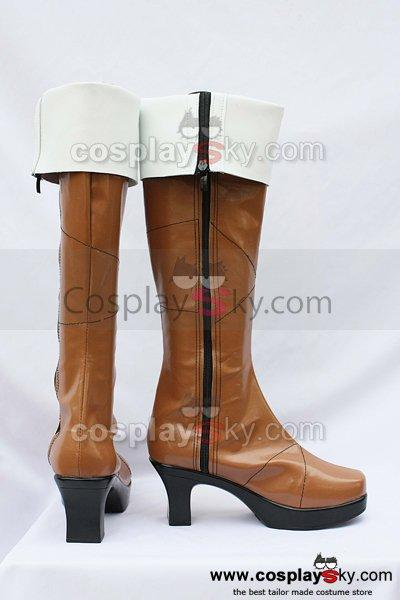 Lamento Konoe Cosplay Boots Custom-Made