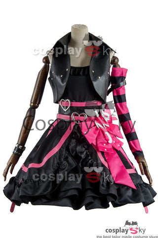 Love Live Lovelive Initial D School Idol Stage Nico Yazawa Dress Cosplay Costume