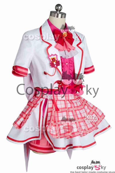 Love Live! Niko Nico Yazawa After School Activity Dress Cosplay Costume
