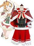 LoveLive! Honoka Kousaka Christmas Uniform Cosplay Costume