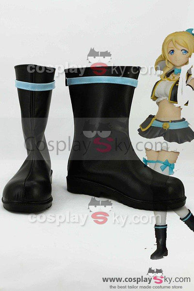 LoveLive! No brand girls Eli Ayase Boots Cosplay Shoes