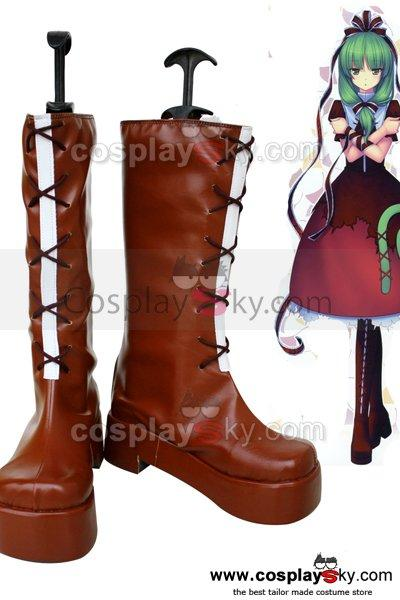 Mountain of Faith Kagiyama Hina Cosplay Boots Shoes