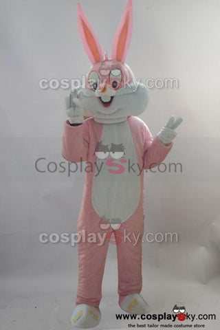 NEW Rabbit Mascot Cosplay Costume Adult Size