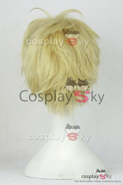 One-Punch Man Demon Cyborg Genos Cosplay Wigs
