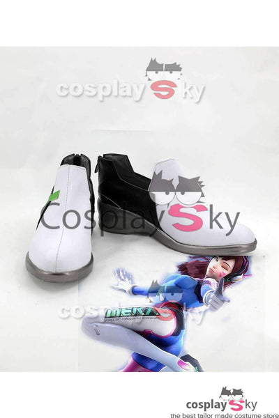Overwatch D.VA DVA Hana Song Cosplay Shoes