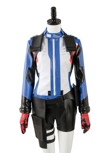 Overwatch Soldier 76 Bio Jack Morrison Female Version Cosplay Costume