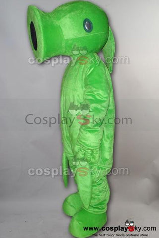 Pea of Plants vs. Zombies PVZ Mascot Costume Adult Size