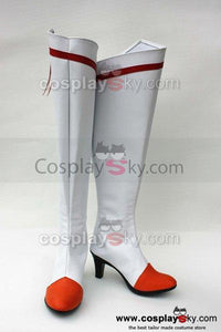 Smile Precure! Pretty Cure Akane Hino Cure Sunny Cosplay Shoes Boots