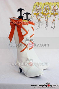 Smile Precure! Pretty Cure Cure Sunshine Cosplay Boots Shoes