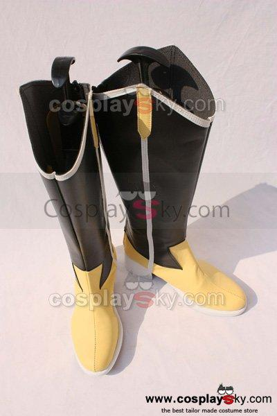 Puella Magi Madoka Magica? Tomoe Mami Cosplay Shoes Boots Custom made