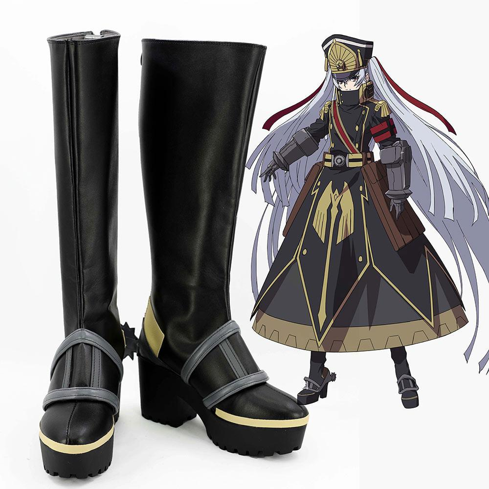 Re:Creators Gunpuku no Himegimi Boots Cosplay Shoes