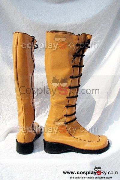 RO Ragnarok Online Cosplay Boots Shoes Yellow