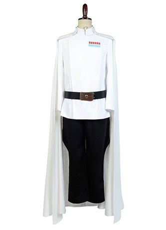 Rogue One: A Star Wars Story Top Director Krennic Officer Uniform Cosplay Costume