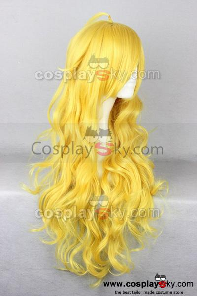 RWBY Yellow Trailer Yang Xiao Long Cosplay Wig