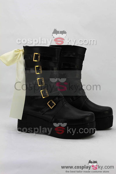 RWBY Yellow Trailer Yang Xiao Long Cosplay Boots Shoes