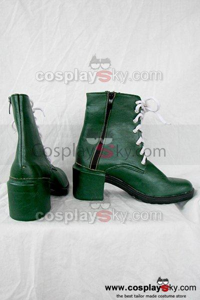 Sailor Moon Kino Makoto Jupiter Cosplay Boots Shoes
