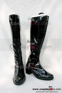 Sailor Moon Meiou Setsuna sailor pluto Cosplay Boots Shoes