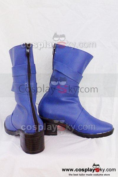 Sailor Moon Tenoh Haruka Cosplay Boots Shoes Custom Made