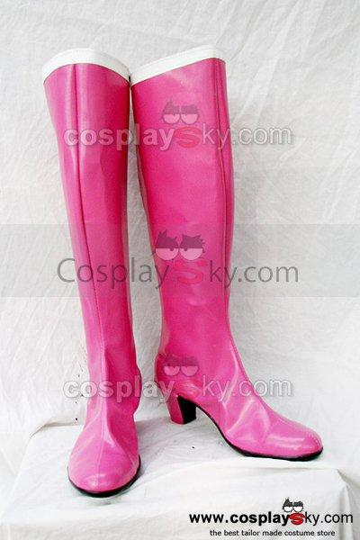Sailor Moon Tsukino Usagi Cosplay Boots Shoes Custom Made