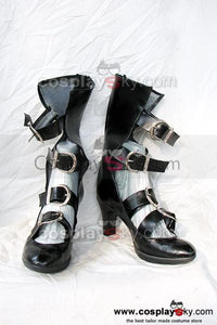 Soulcalibur Black Cosplay Boots Shoes Custom Made