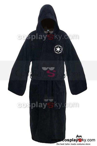 Star Wars Darth Vader Galactic Empire Bathrobe Hooded Bath Robe Fleece