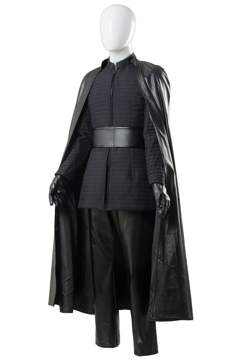 Star Wars 8 The Last Jedi Kylo Ren Outfit Ver 2 Cosplay Costume Trendsincosplay