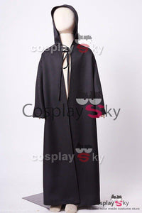 Star Wars Anakin Skywalker Black Cloak Cosplay Costume Child Version