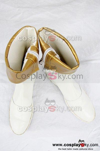 Tales of Phantasia Mint Adnade Cosplay Boots White