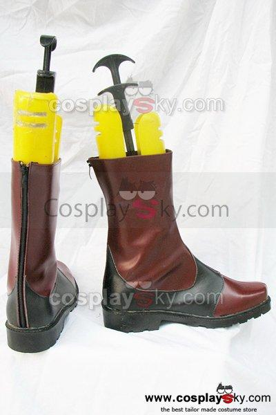 Tales of the Abyss Luke Cosplay Boots Shoes