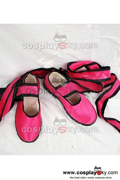 Tekken tekken Ling xiaoyu Cosplay Shoes Custom Made