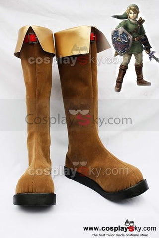 The Legend of Zelda Link Cosplay Boots Shoes