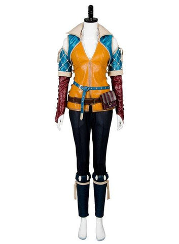 The Witcher 3 Wild Hunt Triss Outfit Cosplay Costume