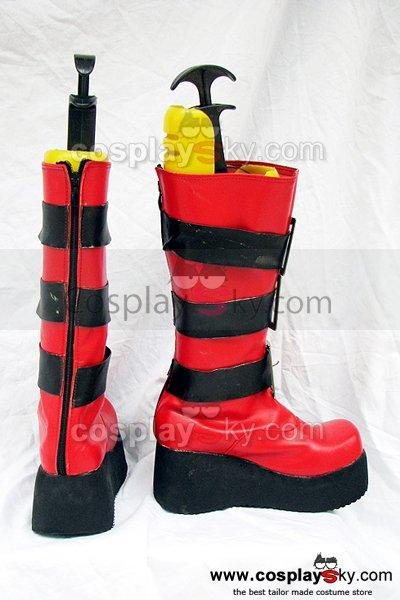 Togainu no Chi Rin Cosplay Boots Shoes Custom Made