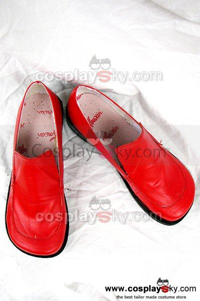 Touhou Project Shameimaru Aya Cosplay Shoes Red