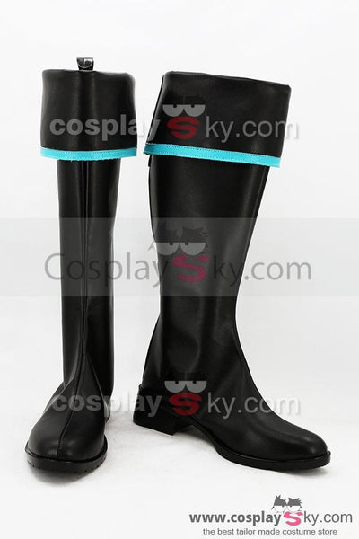 Vocaloid Hatsune Miku Military Boots Cosplay Shoes