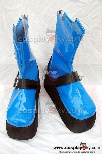 X Shogo Asagi Cosplay Boots Shoes Custom Made