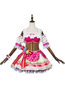 Love Live! Sunshine!! Sakurauchi Riko Valentine's Day Dress Cosplay Costume