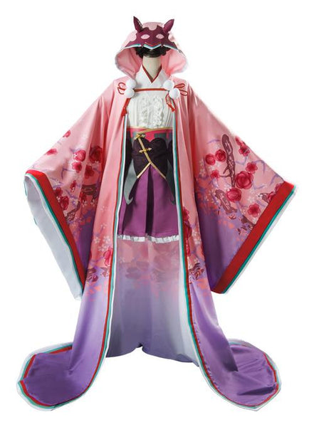 Fate Grand Order FGO Osakabehime Outfit Kimono Cosplay Costume