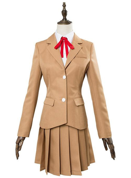 Hinamatsuri Hina Yoshifumi Girls School Uniform Dress Cosplay Costume