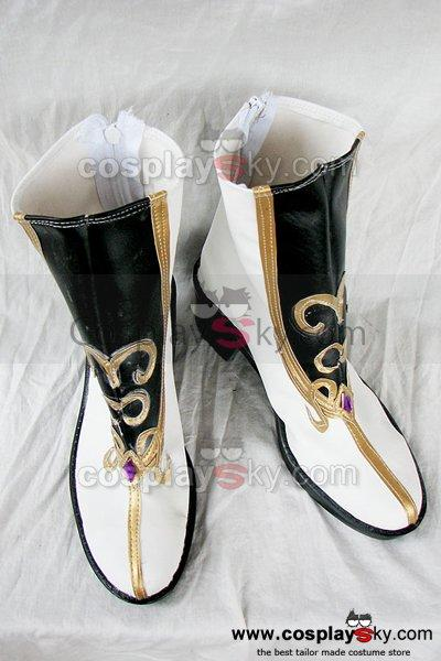 Ys Origin Feena and Reah Cosplay Boots Shoes Custom Made