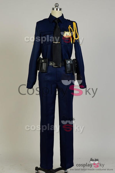 Zootopia Fox Nick Police Uniform Cosplay Costume