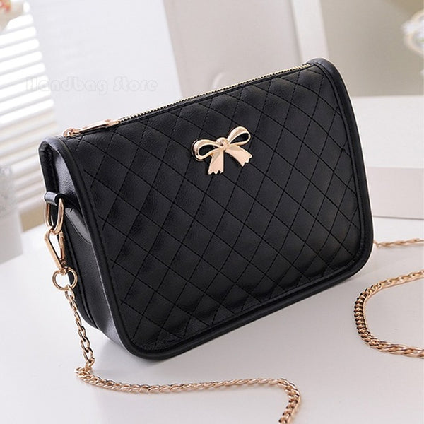 Fashion  Ladies luxury Leather Handbag Tote Shoulder Bag Women Messenger Bags Handbag - Bagssaccessories